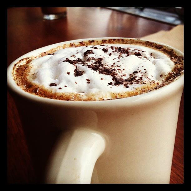 Cappuccino with Mexican Cocoa? Yes.