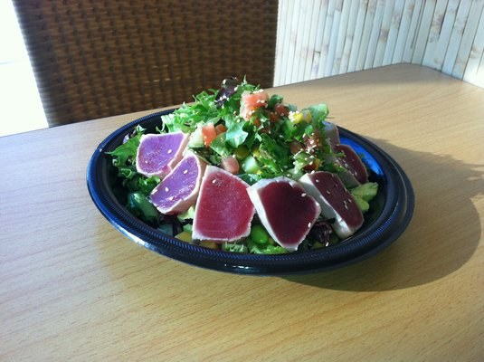Seared Ahi Tuna Plate